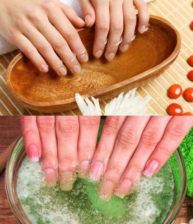 Рецепты ванночек для ногтей в домашних условиях – Укрепляющие ...