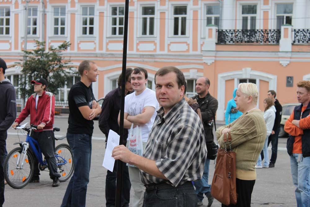 Стратегия 31 в Вологде. Август 2011