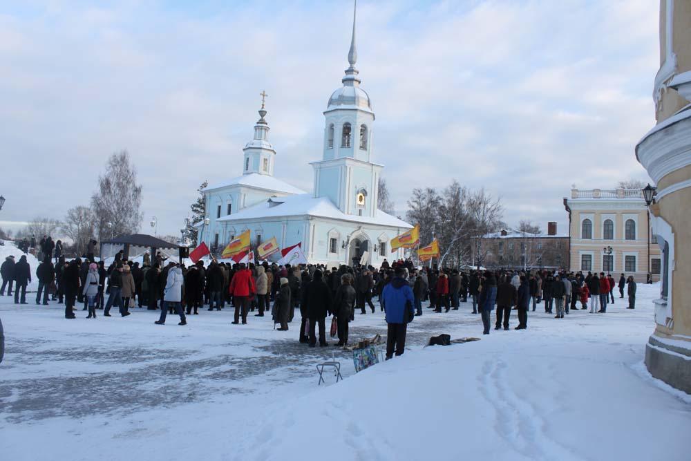 Митинг 24 декабря – «За честные выборы». Фотоотчет