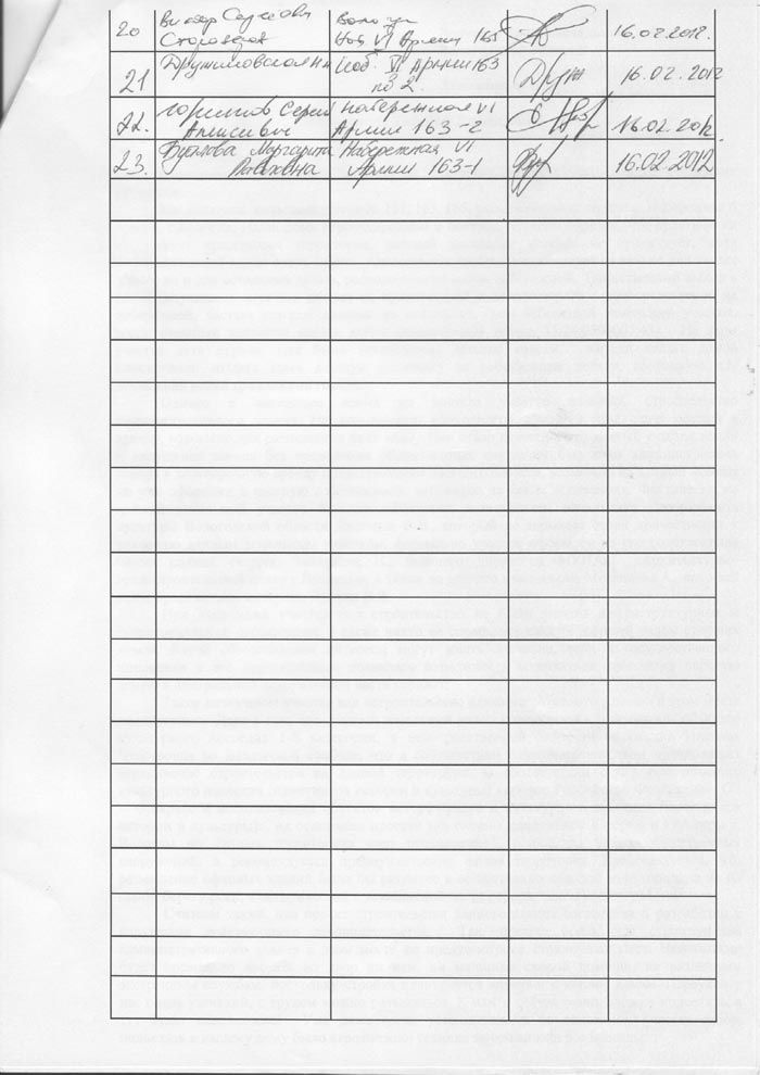 подписи по Лукину, Набережная 6-й армии, Заречье, Вологда
