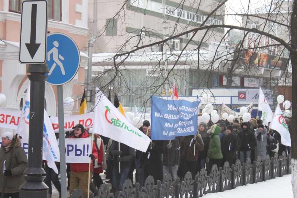 Шествие за честные выборы 4 февраля. Фотоотчет
