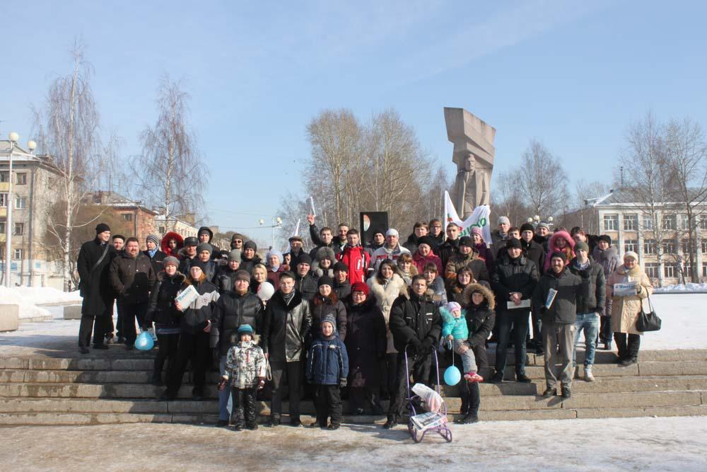Митинг 10 марта в Вологде