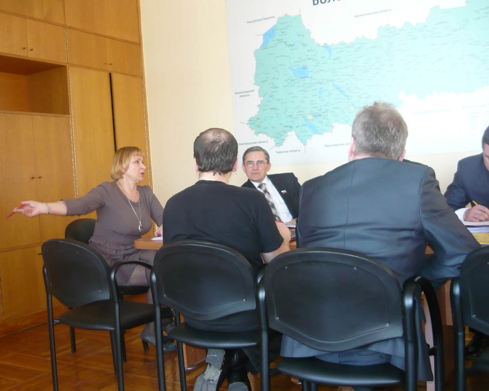 Заседание фракции СР в ЗСО